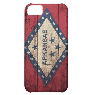 Wooden Arkansas Flag iPhone 5C Case