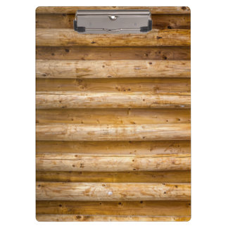 Wooden Background Modern Elegant Clipboard