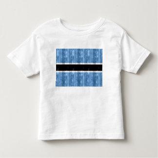 Wooden Batswana Flag T-shirt