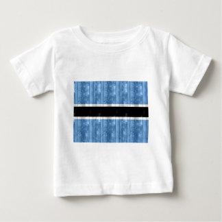 Wooden Batswana Flag Shirt