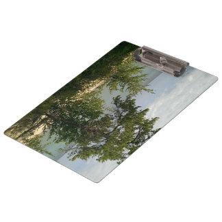 wooden beach clipboard