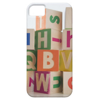 Wooden blocks iPhone 5 cover