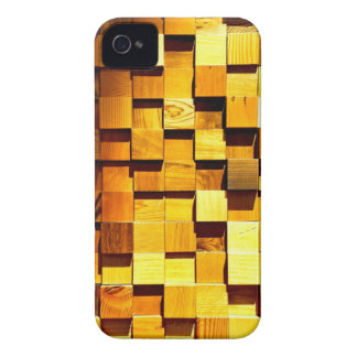 Wooden Blocks Pattern iPhone 4 Case-Mate Case