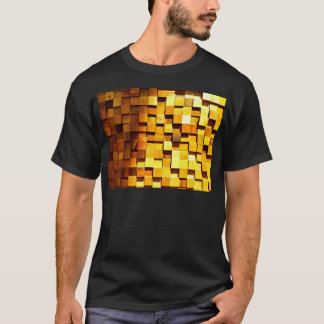 Wooden Blocks Pattern T-Shirt