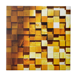 Wooden Blocks Pattern Tile