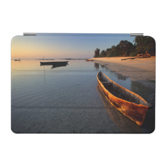 Wooden boats on Tondooni Beach iPad Mini Cover