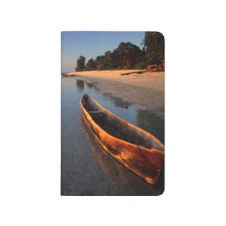 Wooden boats on Tondooni Beach Journal