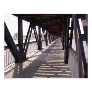 Wooden Bridge Custom Invitations