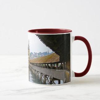 Wooden bridge, region Lucerne Mug