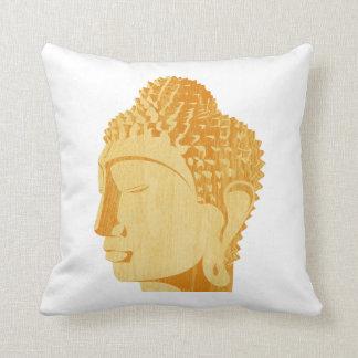 Wooden Buddha Pillow