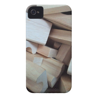 Wooden Building Blocks BlackBerry Bold Case
