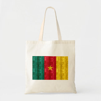 Wooden Cameroonian Flag Bags