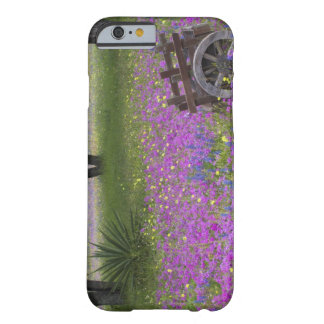 Wooden Cart in field of Phlox, Blue Bonnets with Barely There iPhone 6 Case