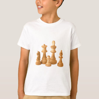 Wooden Chess Pieces T-Shirt