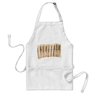 Wooden clothes pegs standard apron