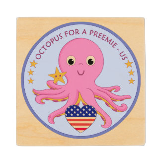 Wooden Coasters Octopus For A Preemie US