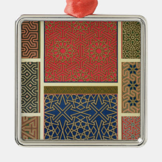 Wooden compartments and borders, from 'Arab Art as Christmas Ornament