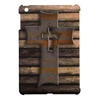 Wooden Cross iPad Mini Case