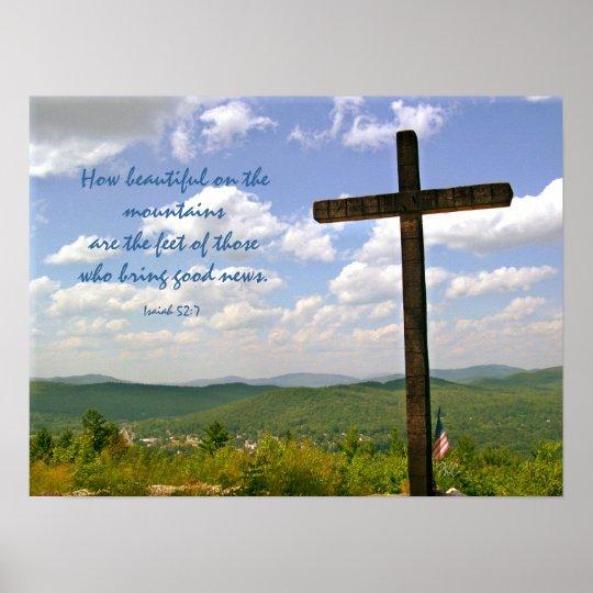 Wooden Cross Poster