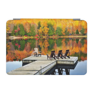 Wooden Dock On Autumn Lake iPad Mini Cover