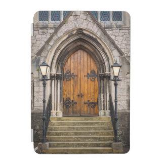 Wooden doors at entrance iPad mini cover