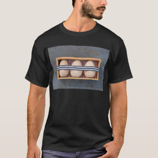 Wooden eggs in a box T-Shirt