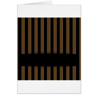 Wooden fence background greeting card