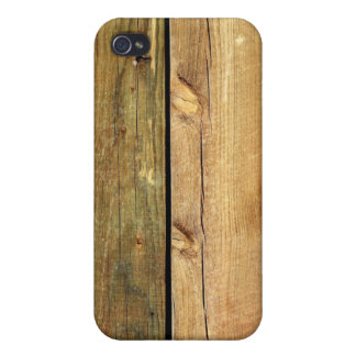 Wooden Fence Case For The iPhone 4