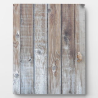 Wooden Fence Plaque