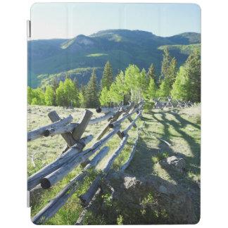 Wooden Fenceline iPad Cover