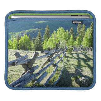 Wooden Fenceline iPad Sleeve