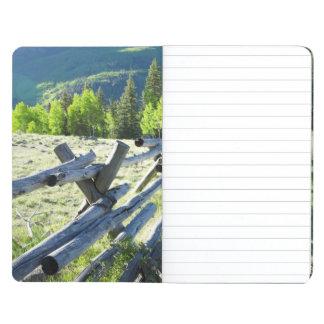 Wooden Fenceline Journal