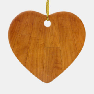 Wooden Floor Parquetry Parquet Laminate Brown Ceramic Heart Decoration