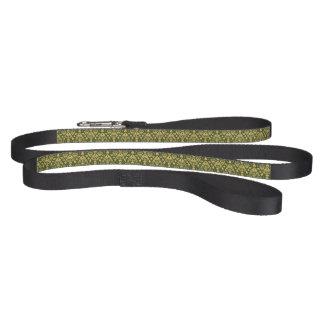 Wooden floral damask pattern background dog leash