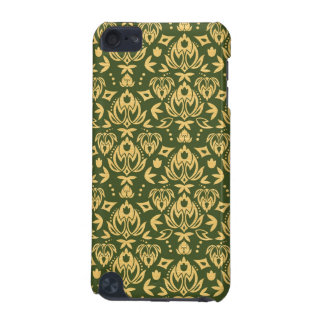 Wooden floral damask pattern background iPod touch 5G cover