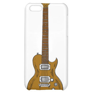 Wooden Guitar iPhone 5C Cover