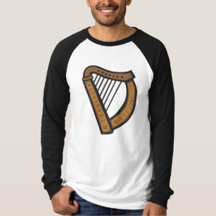 Harp Design T Shirts Shirt Designs Zazzle Uk