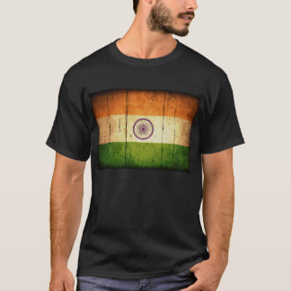 Wooden Indian Flag T-Shirt