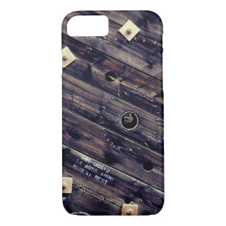 Wooden Industrial Wire Spool iPhone 8/7 Case