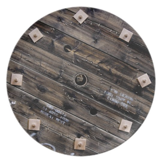Wooden Industrial Wire Spool Plate