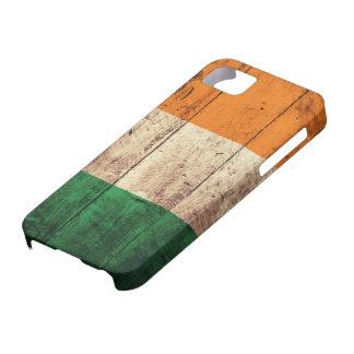 Wooden Ireland Flag iPhone 5 Case