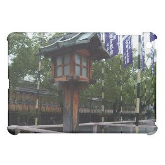 Wooden Japanese Shrine Lantern iPad Case