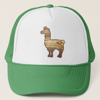 Wooden Llama Cap