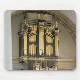 Wooden organ case, c.1685-6 mouse pad
