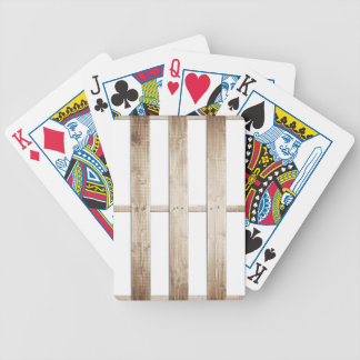 Wooden Pallet Playing Cards