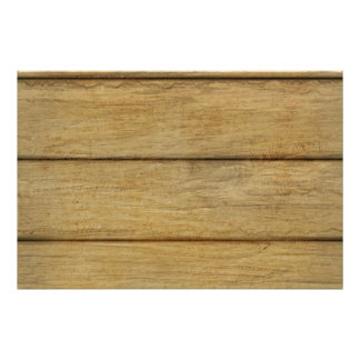 Wooden Panel Texture Poster