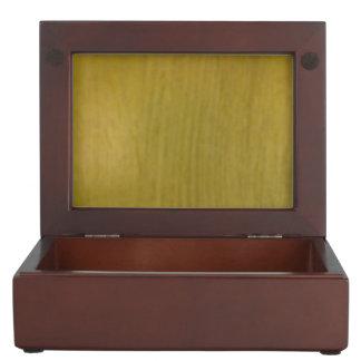 Wooden pattern keepsake box