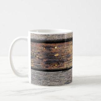 Wooden Planks Basic White Mug