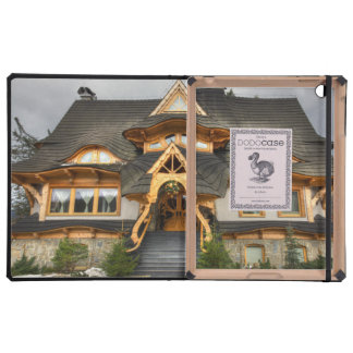 Wooden Polish House In Zakopane iPad Folio Cover