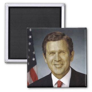 Wooden President Refrigerator Magnet
